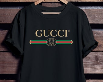 Gucci Shirt Men and Women - Gucci Inspired - Gucci Vintage - Vintage Shirt - Gucci Design - LIMITED TIME ONLY - Free Shipping
