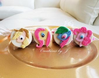 1 dozen (12 treats) My Little Pony Oreo treats