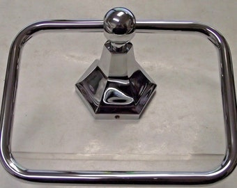 Aviana 80104 Towel Ring Polished Chrome Platino Collection