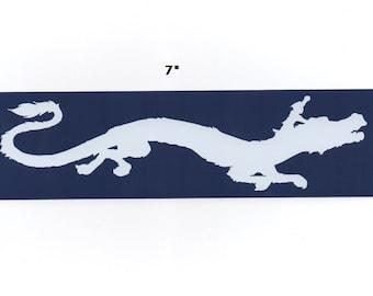 Luck Dragon sticker - Falkor dragon decal geek gift