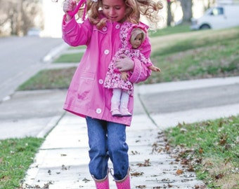 Rainy Day Raincoat Sewing Pattern Download (802656)