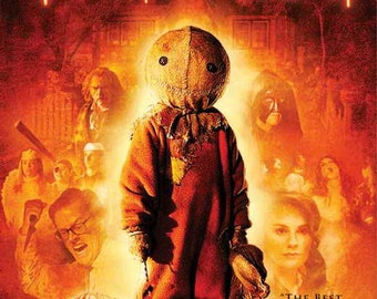 Trick 'r Treat (2007) movie poster 11 x 17 Dylan Baker Anna Paquin anthology horror film Halloween candy werewolves school bus vampire