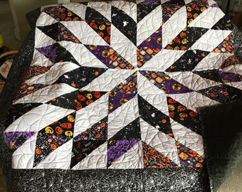 Halloween Quilted Throw