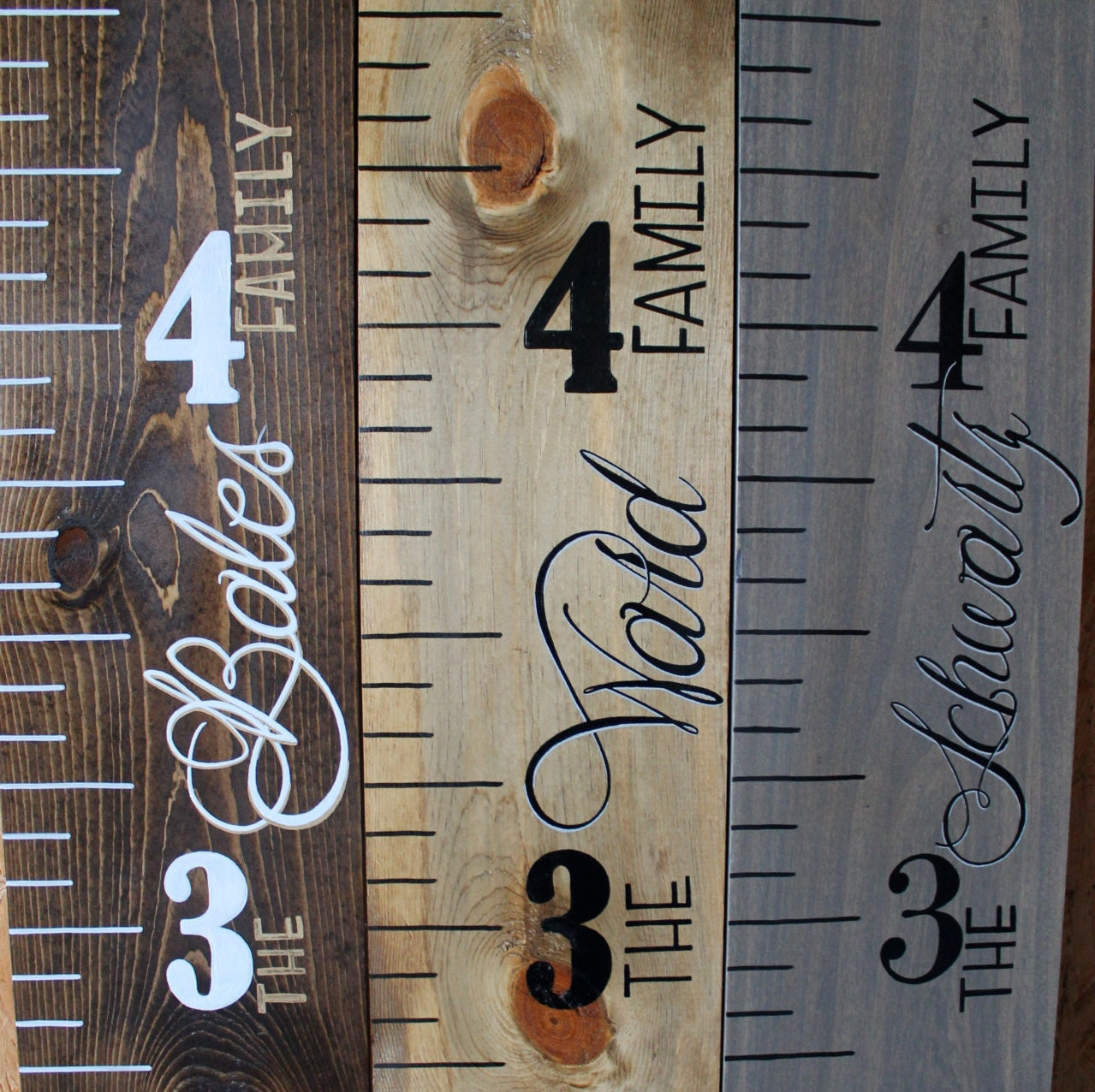 Wood growth chart ruler painted zoom geenschuldenfo Images