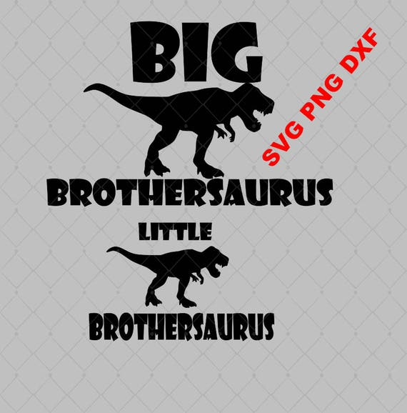 Download Big Brother Little Brother Dinosaurs Brothersaurus SVG PNG DXF