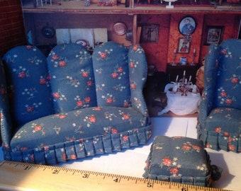 Sale Dollhouse Living room   Set