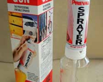 PreVal Sprayer and bottle