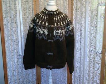 SALE! Icelandic fairisle cardigan original price 350 dollars now only 100.