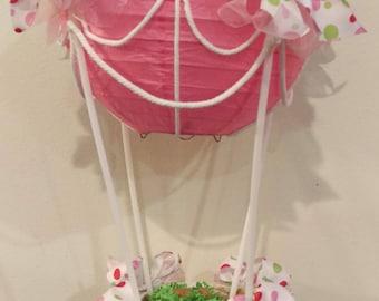 Hot Air Balloon Shower/Graduation Centerpiece
