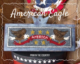 American Eagle Punch Needle Pattern
