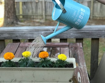 Watering Can with Custom Vinyl