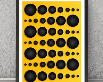 Geometric print, Geometric poster, Geometric art, Geometric wall decor, Contemporary print, Contemporary poster, Abstract wall art