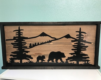 Hunting Man Cave Accessories : Hunting man cave etsy