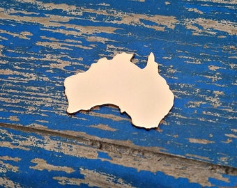 Copper Australia Stamping Blanks - PUNCHED - Qty 5