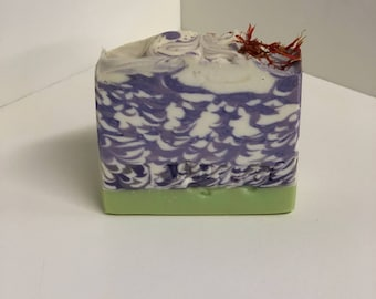 Blushing Orchid Soap / Artisan Soap / Handmade Soap / Soap / Cold Process Soap