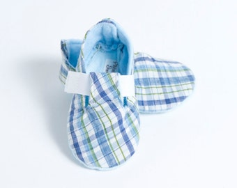 Baby Boy Bootie TINY TIKE-Blue and White