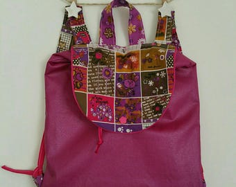 "Backpack preschool/school ""Little critters"" Purple coated"