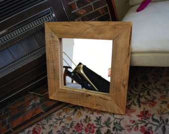 Handmade Recycled Timber Mirror Frame #3