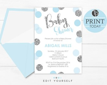 Superb image regarding etsy baby shower invitations printable