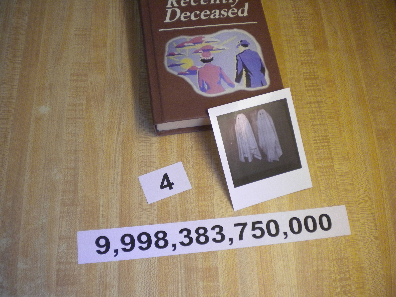 Beetlejuice Business Cards movie / costume prop Betelgeuse