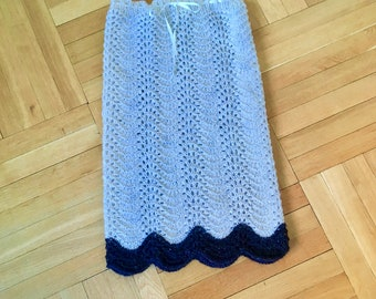 Skirt - hand knitted - size XS/S