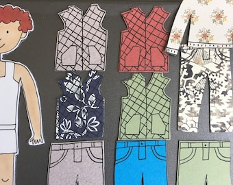 Fall PIPSQUEAKS by Pipsqueak: Magnetic Paper Dolls