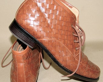 Vintage Leather BOOTS, Orvis, 1980s