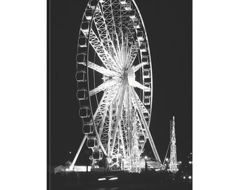 iCanvas Roue de Paris Gallery Wrapped Canvas Art Print by Laura Marshall