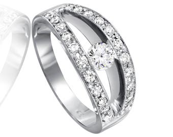 Women's Beautiful Diamonds Ring