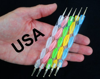 1  Stylus Ball Tool for Embossing, Miniatures, Clay Work, Nail Art Dotting,  Marbelizing