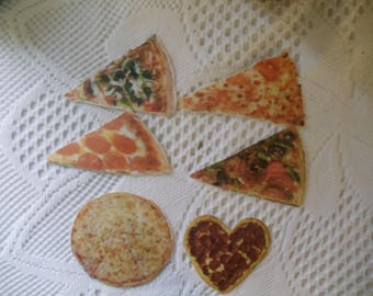 Pizza Themed Stickers