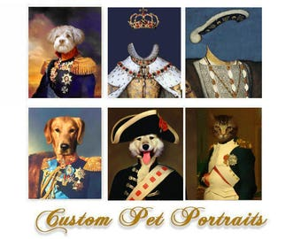 Custom portrait, pet portrait, custom dog portrait, custom pet portrait, pet painting, pet memorial, pet drawing, dog portrait