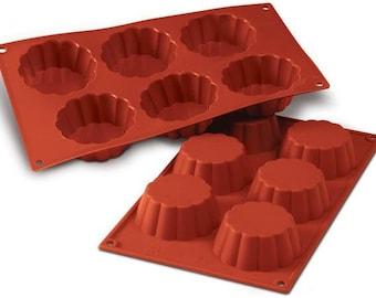 Silicone Mould- Briochettes