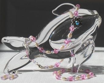 Premiere Collection - Child's Pink Necklace Set
