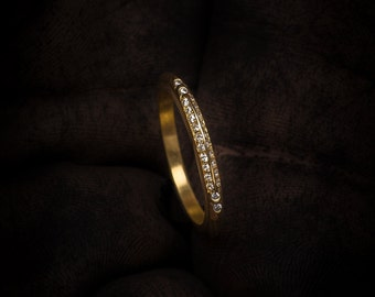 woman ring, stackable ring, promise ring, gold ring, diamond ring,delicate ring, unique ring, stalking ring, 14k gold ring, unique ring