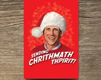 Clark Griswold National Lampoon's Vacation Christmas Card