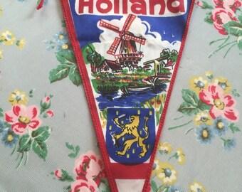 Vintage holland flag