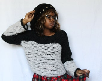 The Frost Sweater Crochet Pattern. Instant Download!