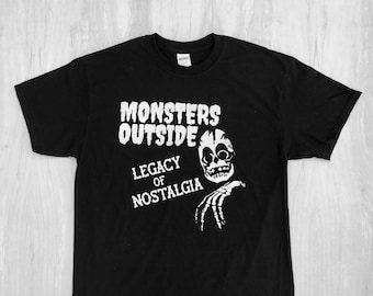 Monsters Outside Legacy Tee Shirt