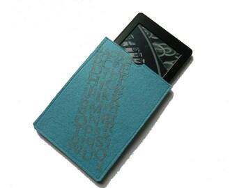 "Kindle Paperwhite Case, Kindle Paperwhite Sleeve, Kindle Paperwhite Cover, Kindle Cover, Kindle Sleeve, Kindle Case - 16"" cover"