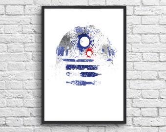 Art-Poster 50 x 70 cm - R2D2 Star Wars
