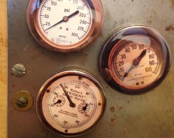 antique gauge magnets