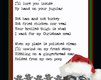 Albert Fish serial killer holiday card