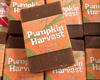 Pumpkin Harvest Soap