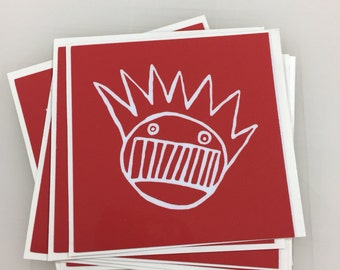 Red Ween Sticker or Magnet