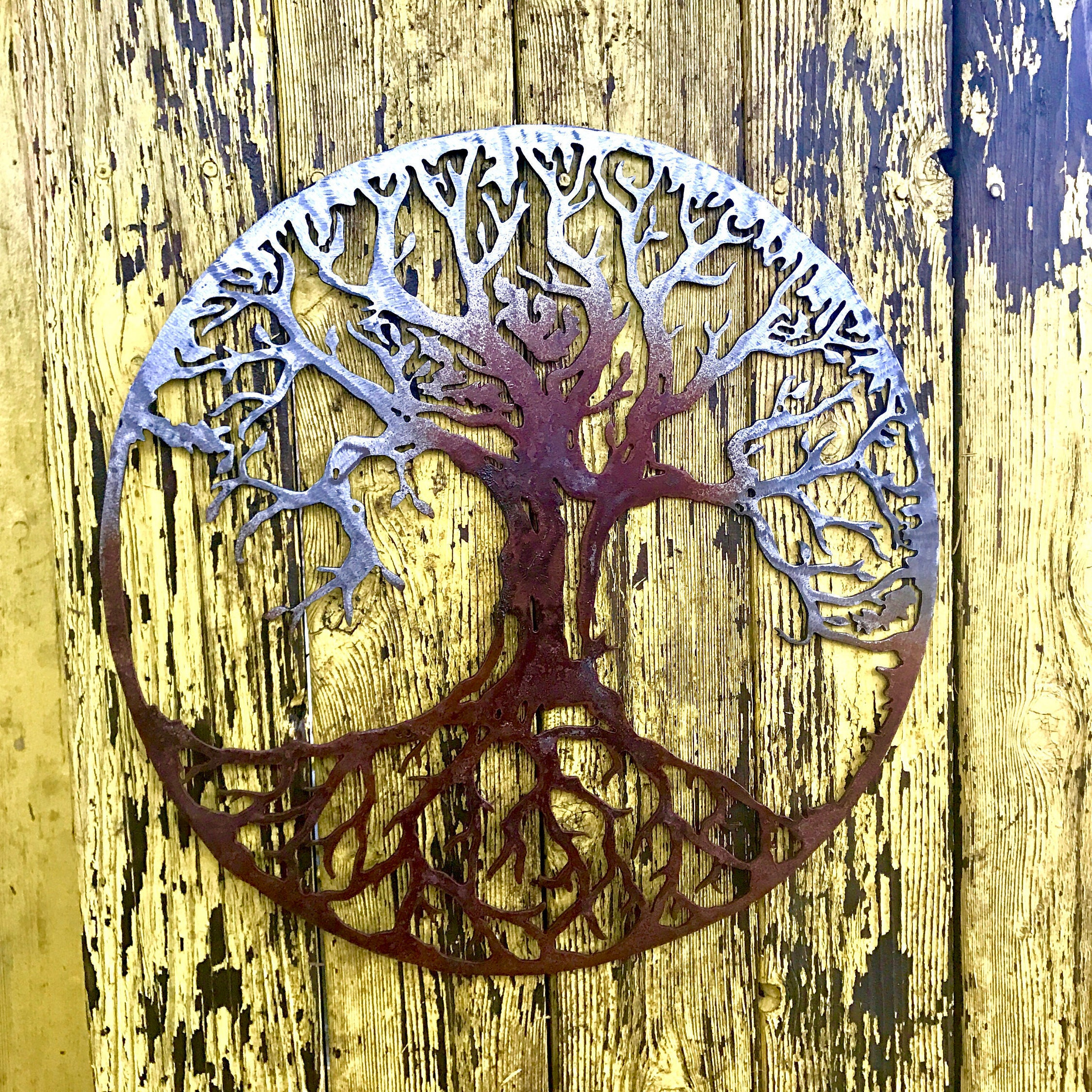 Amazing Wall Art Metal Tree Composition - The Wall Art Decorations ...