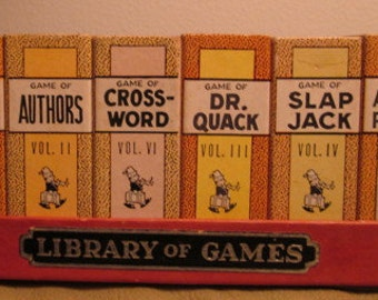 Library of Games Miniature Card Game Set