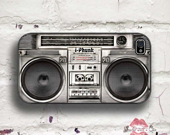 Vintage Boombox - i-phunk Ghetto blaster - iPhone 4/4S 5/5S/5C/6/6+ and now iPhone 7 cases!! And Samsung Galaxy S3/S4/S5/S6/S7