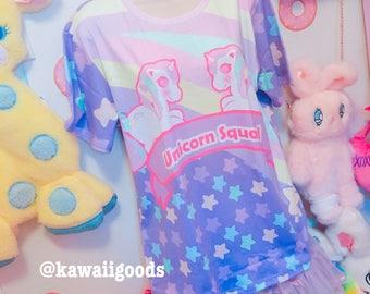 Sweetie Dreams Unicorn Squad Top 2XL