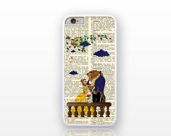 Beauty and the Beast iPhone 6/6s case -iPhone 6 plus -iPhone case 5/5S-iPhone 4/4S-Galaxy S5 case-Galaxy S6-by Natura Picta NP155